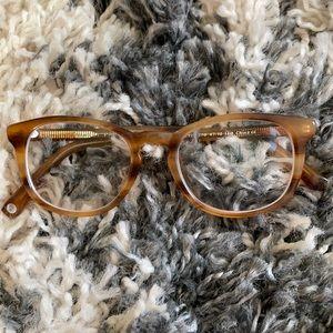 Warby Parker tortoiseshell eyeglass frames